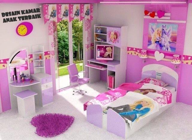 Desain Kamar Anak Terbaik Usia 5 – 10 Tahun