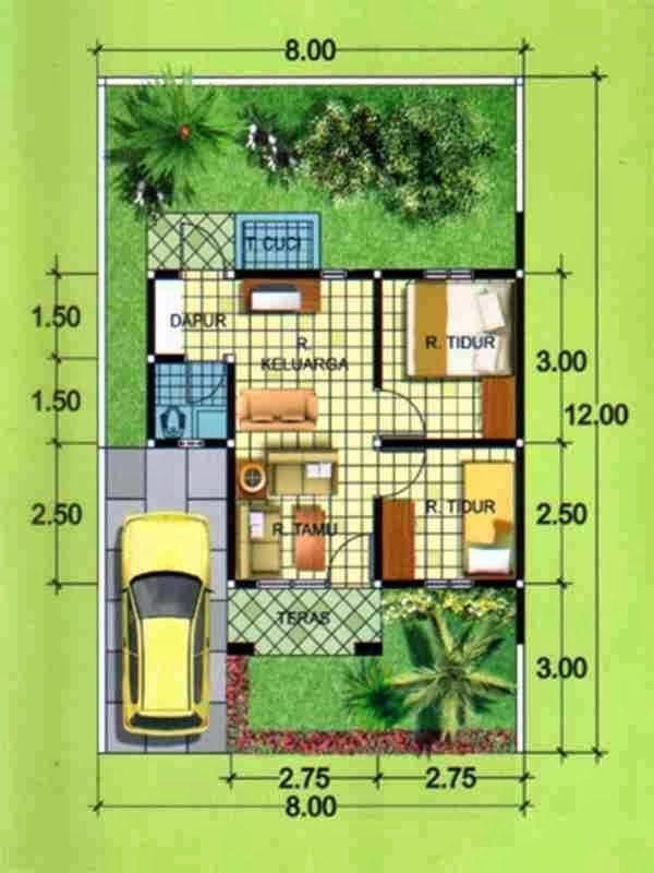 10 Desain Rumah Minimalis 2 Kamar Ini Cocok Untuk Pasangan Muda